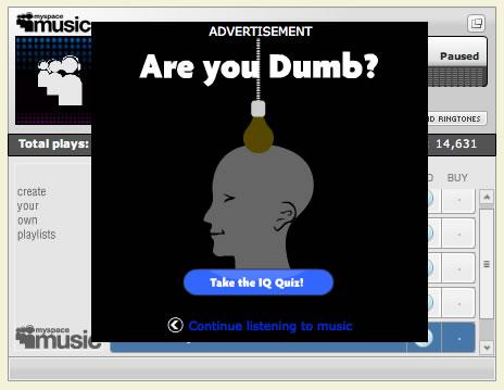 Myspace Ad