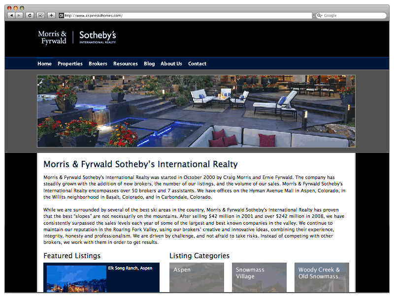 Morris & Fyrwald Sotheyby's International Realty