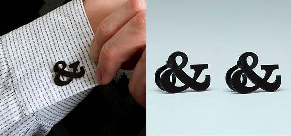 Ampersand Faux Cufflinks - Veer