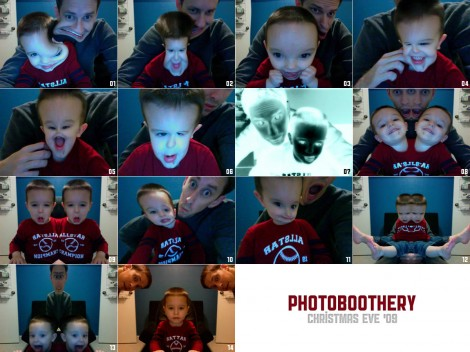 Photoboothery | Christmas Eve 2009