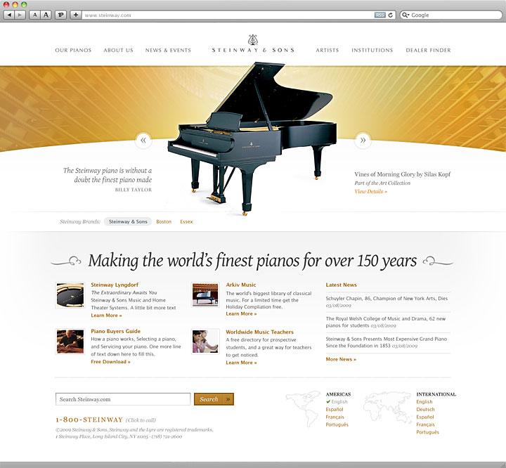 Steinway & Sons Piano | Jesse Bennett-Chamberlin
