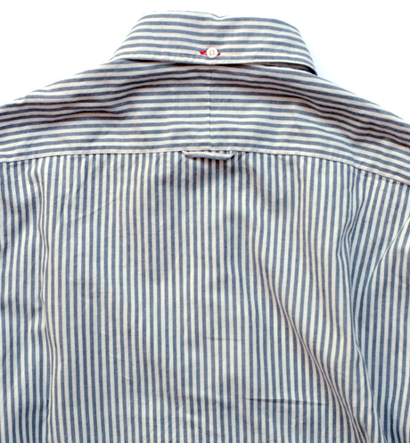 Gitman Bros. - Organic Japanese Cotton Striped Oxford