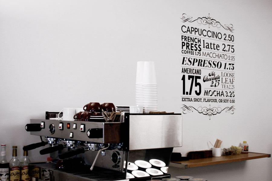 Workspace coffee setup