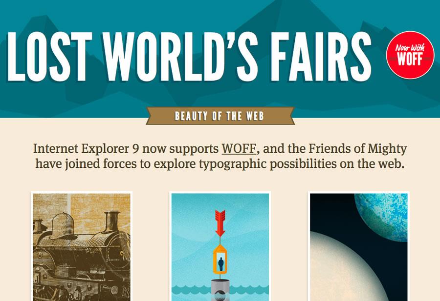 Lost World's Fairs