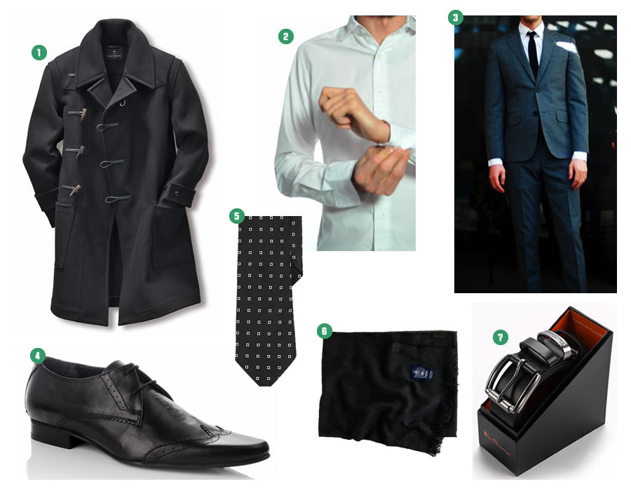 2010 Men's Style Guide in Black