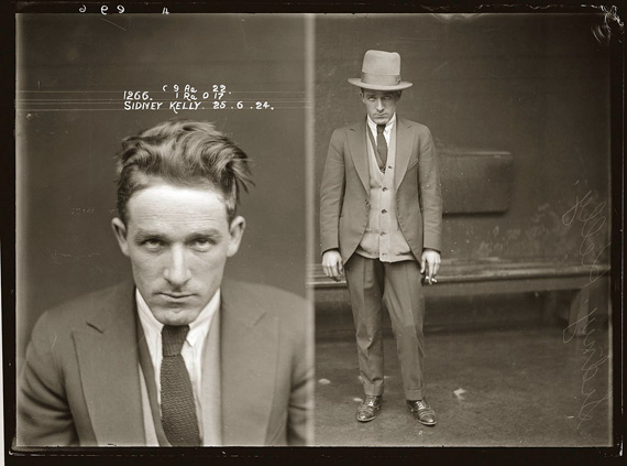 Mugshot - Sydney, early 20th century
