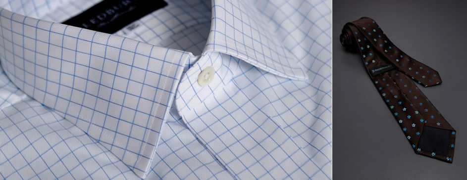 Ledbury Blue Windowpane Worker