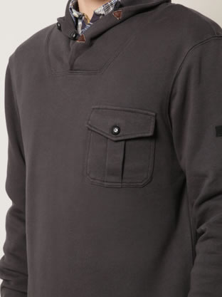 Ben Sherman Shawl Collar Pullover