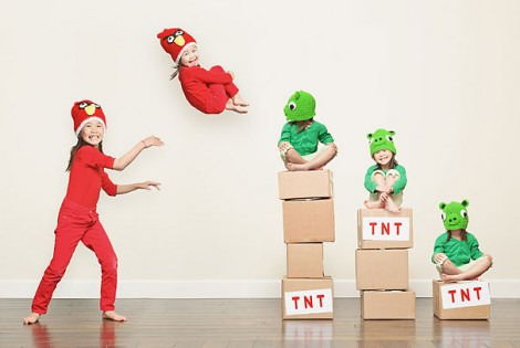 Jason Lee - Kid Photography - Angry Birds
