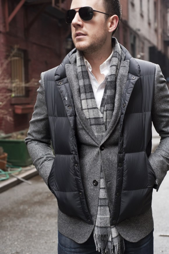 Christian Ross – Purveyor of Awesome | Vest over Sport Coat – What